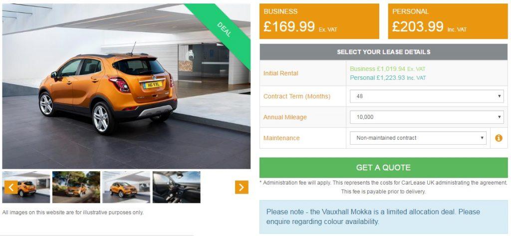 vauxhall-mokka-lease-deal