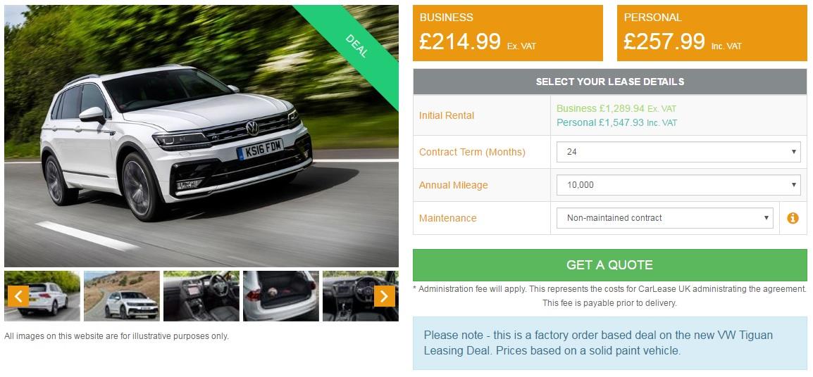 vw-tiguan-lease-car-deal