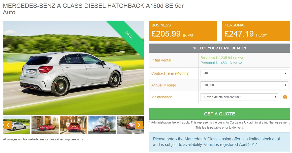 mercedes-a-class-lease-deal