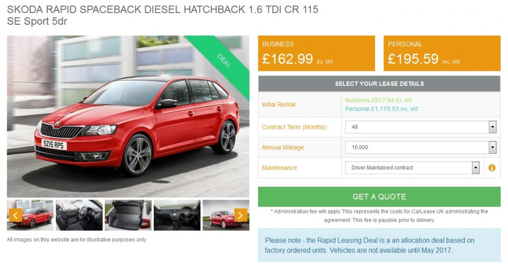 skoda-rapid-spaceback-lease-deal