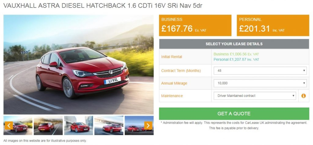 vauxhall-astra-lease-deal