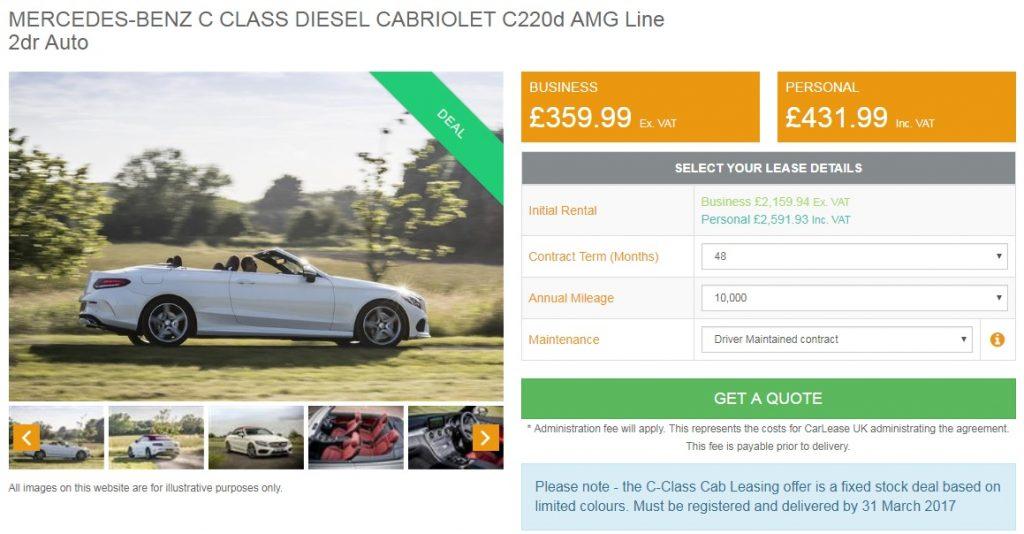 mercedes-c-class-cabrio-lease-deals