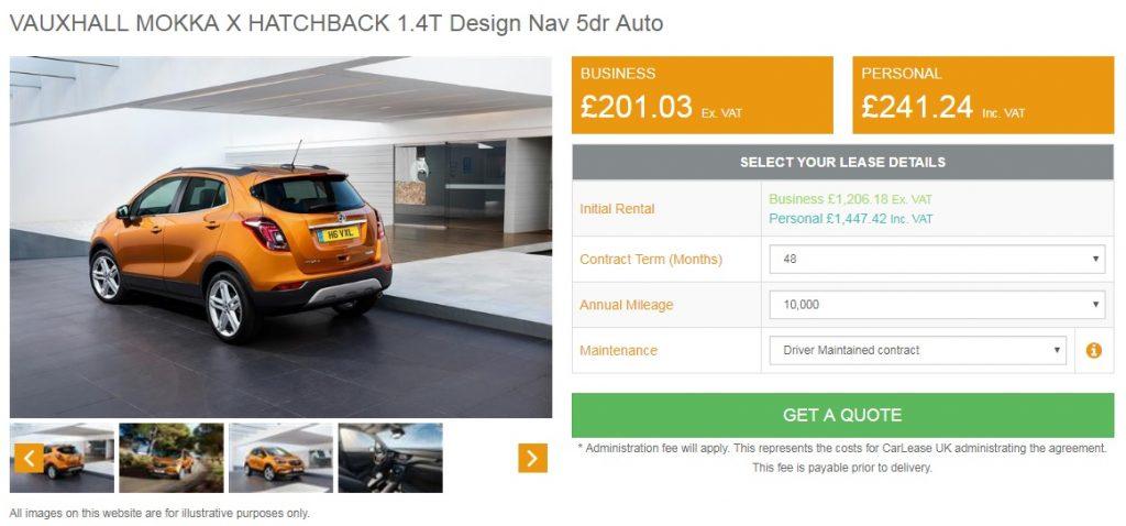 vauxhall-mokka-x-auto-lease-deal