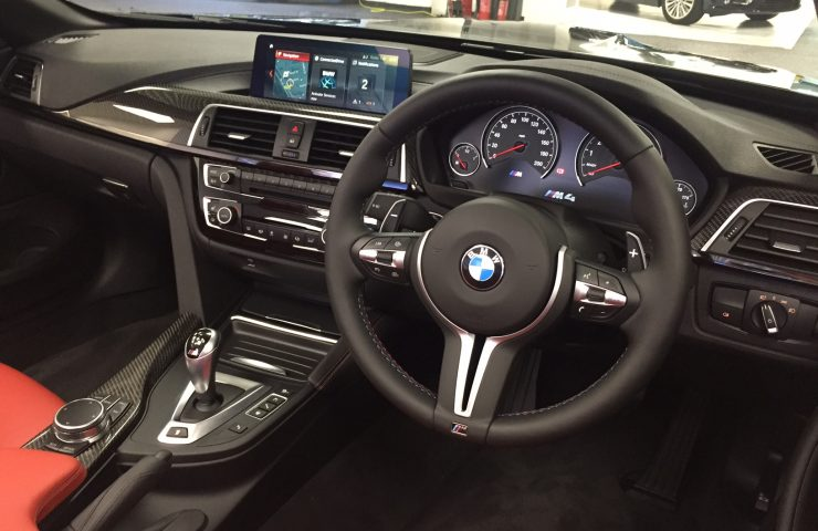 BMW M4 CONVERTIBLE M4 2dr DCT [Competition Pack] Car Leasing Interior