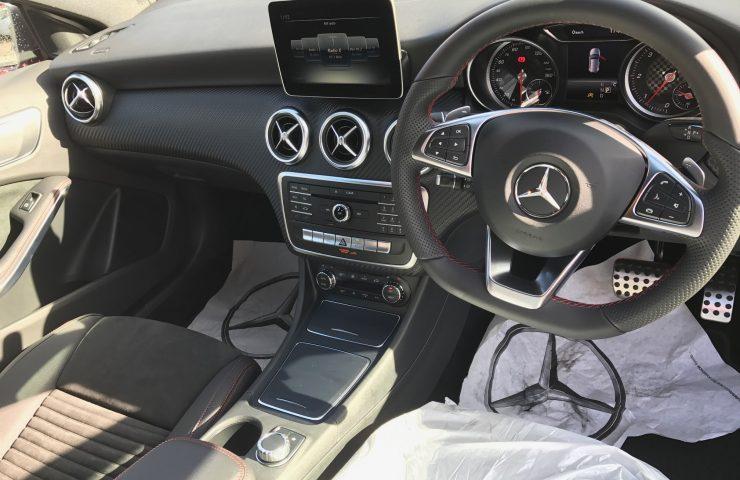Mercedes A CLASS DIESEL HATCHBACK A200d AMG Line 5dr Auto Car Leasing Interior