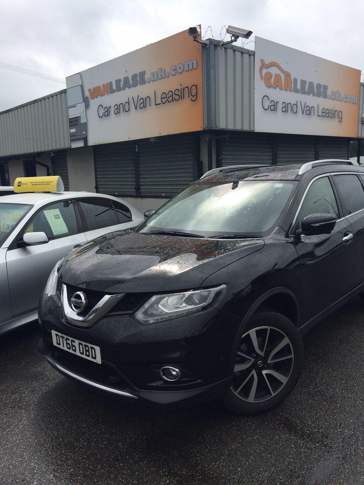 Nissan X-TRAIL DIESEL STATION WAGON 1.6 dCi Tekna 5dr [7 Seat] Manual Car Leasing UK