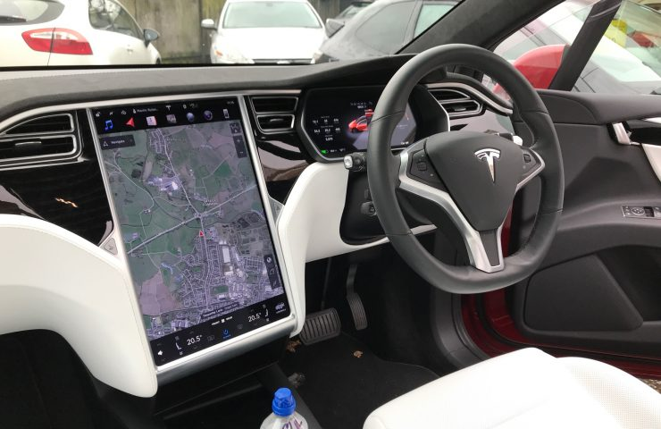 Tesla MODEL X HATCHBACK 90kWh Dual Motor Performance 5d Car Leasing Interior