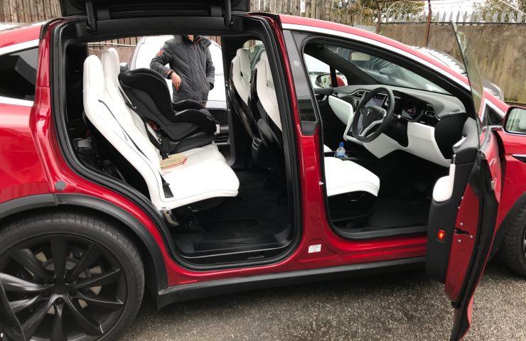 Tesla MODEL X HATCHBACK 90kWh Dual Motor Performance 5d Car Leasing Manchester