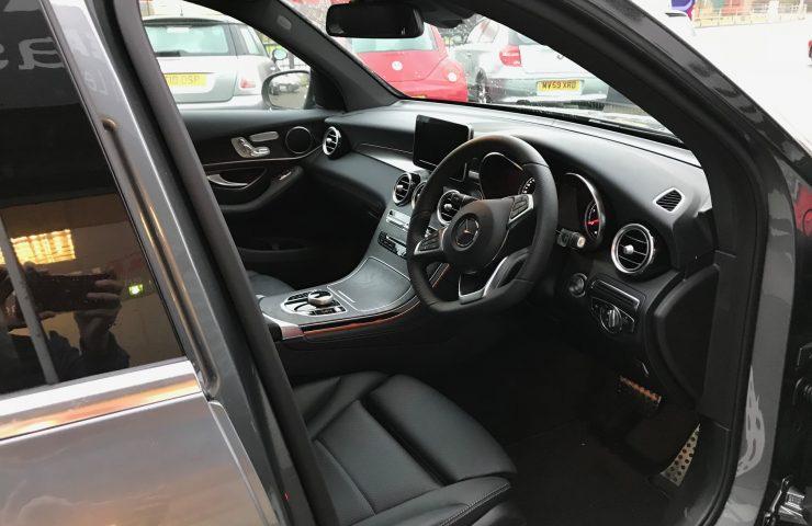 Mercedes Benz GLC Diesel Estate GLC 220d 4Matic AMG Line Premium 5d door 9G-Tronic Car Leasing Interior