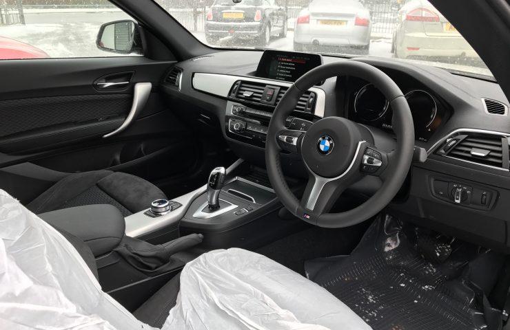 BMW 2 SERIES COUPE 218i M Sport 2dr [Nav] Step Auto Petrol Car Leasing Interior