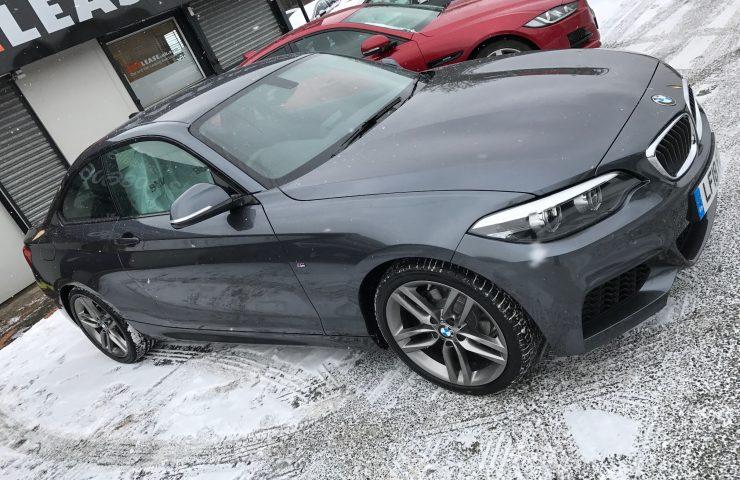 BMW 2 SERIES COUPE 218i M Sport 2dr [Nav] Step Auto Petrol Car Leasing Luxury