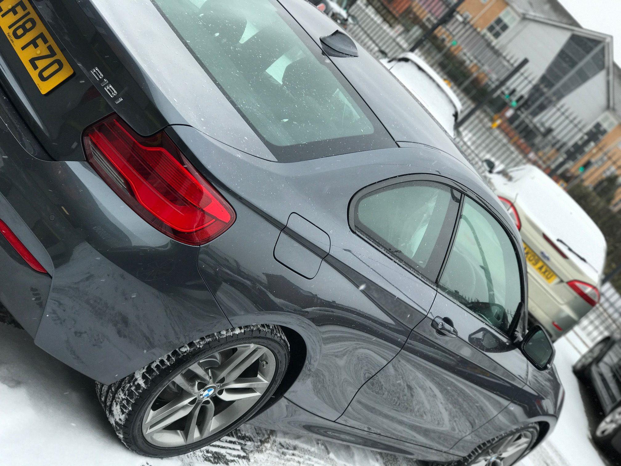 BMW 2 SERIES COUPE 218i M Sport 2dr [Nav] Step Auto Petrol Car Leasing