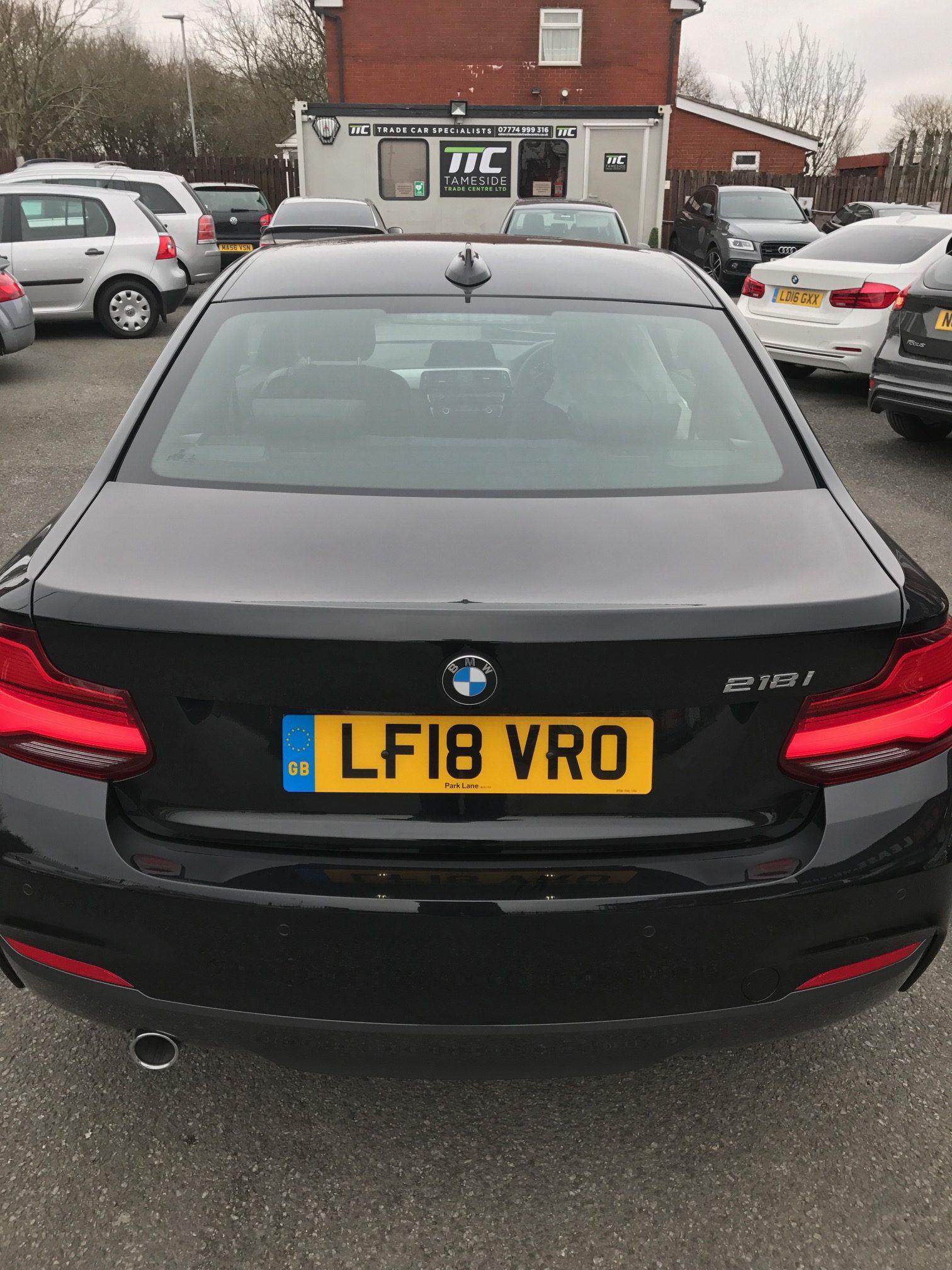 BMW 2 Series Petrol Coupe 218i M Sport 2 Door [Nav] Step Auto Car Leasing Insurance