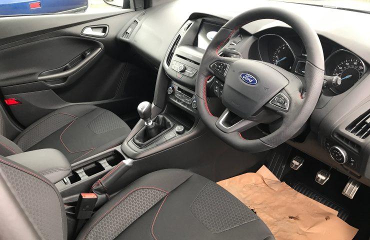 FORD FOCUS HATCHBACK 1.0 EcoBoost 140 ST-Line X 5dr Manual Petrol Car Leasing Interior