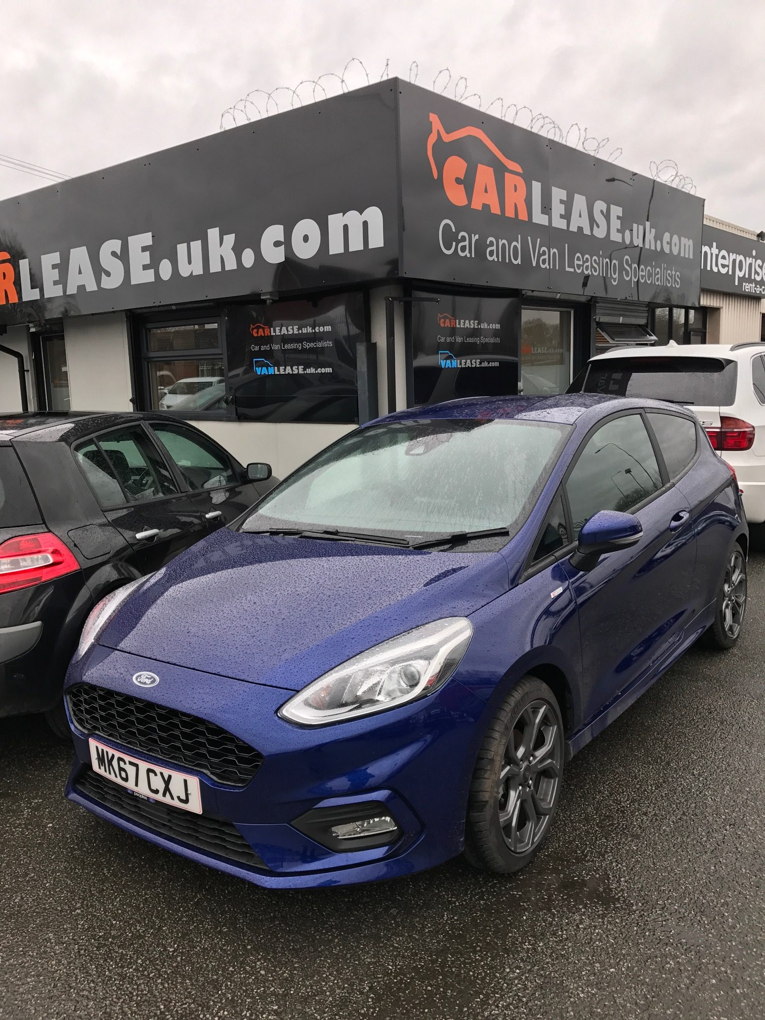 Ford FIESTA HATCHBACK 1.0 EcoBoost ST-Line 3dr Manual Car Leasing Information