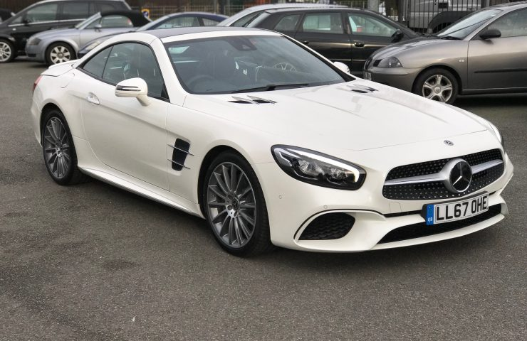 MERCEDES-BENZ SL Class Roadster 400 AMG Line 2Dr 9G-Tronic Auto Car Leasing