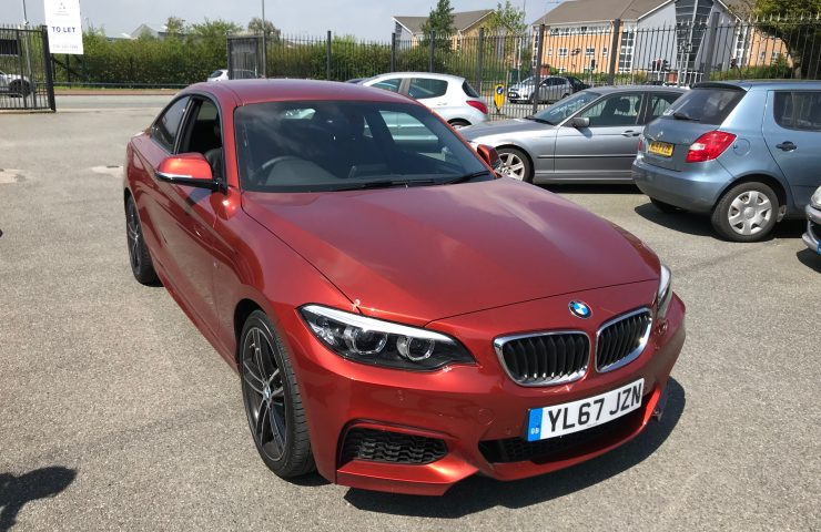 BMW 2 SERIES COUPE218i M Sport 2dr [Nav] Step Auto Car Leasing