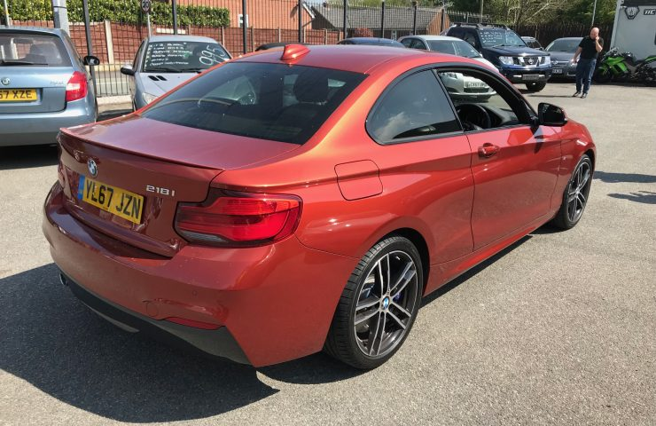 BMW 2 SERIES COUPE218i M Sport 2dr [Nav] Step Auto Car Leasing Best Deals