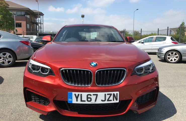 BMW 2 SERIES COUPE218i M Sport 2dr [Nav] Step Auto Car Leasing Luxury