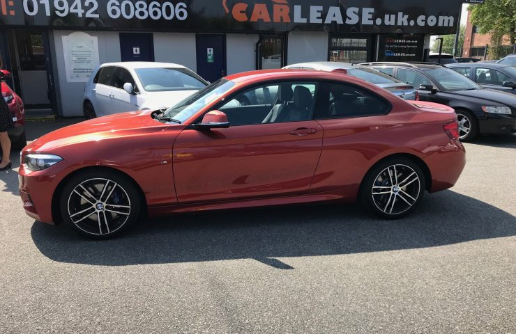BMW 2 SERIES COUPE218i M Sport 2dr [Nav] Step Auto Car Leasing UK