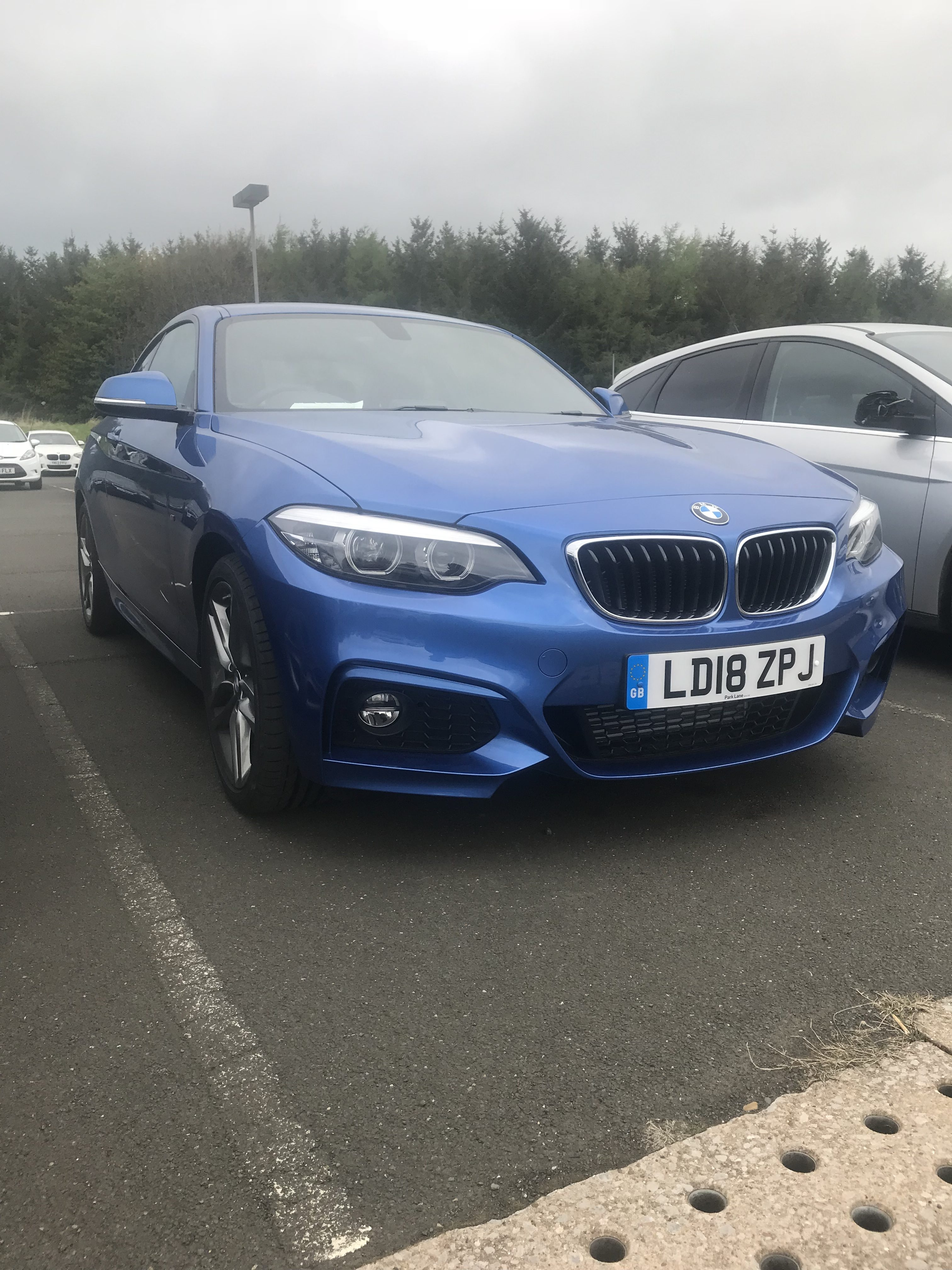 BMW 2 Series Coupe 218i Petrol M Sport 2 door Nav Car Leasing Best Deals