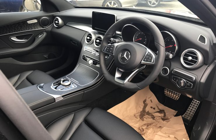 Mercedes-Benz C CLASS DIESEL ESTATE C220d AMG Line 5 door 9G-Tronic (Auto) Car Leasing Interior