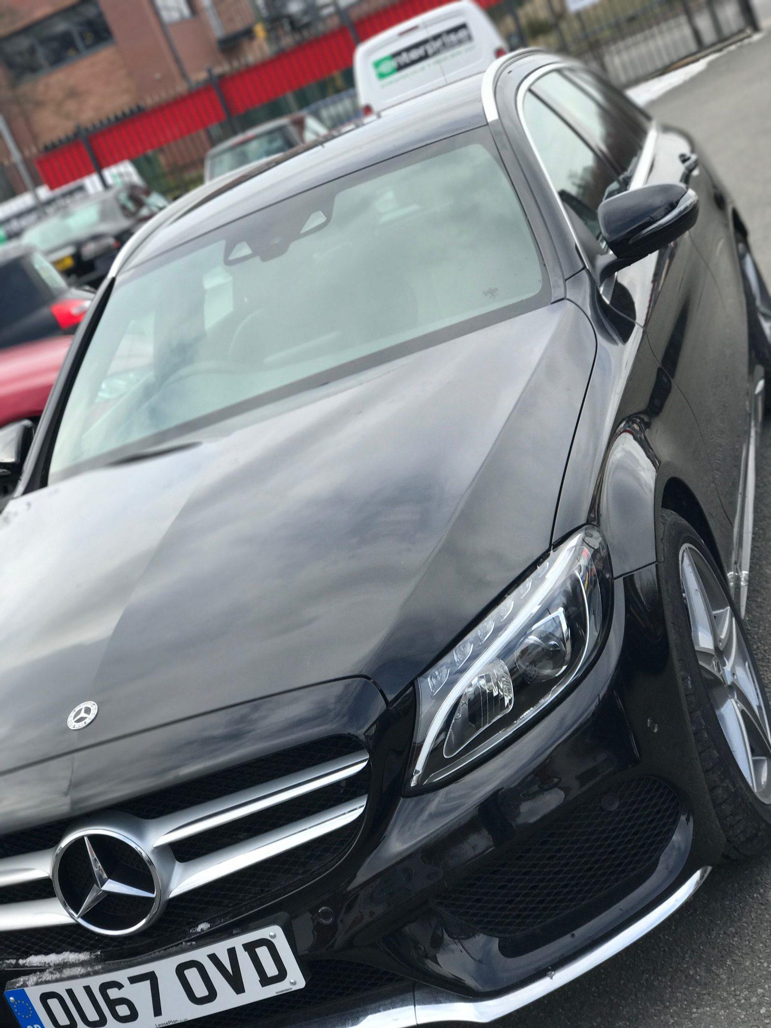 Mercedes-Benz C CLASS DIESEL ESTATE C220d AMG Line 5 door 9G-Tronic (Auto) Car Leasing Luxury