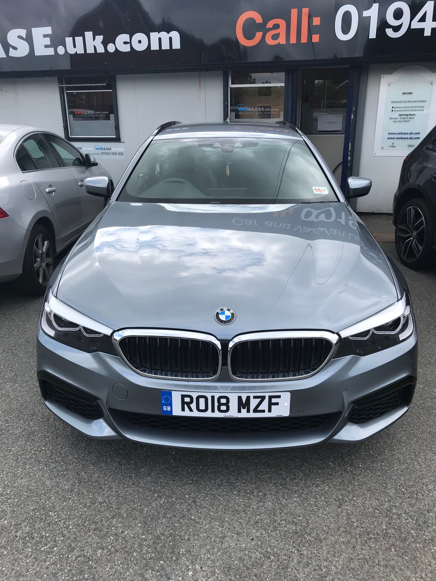 BMW 5 SERIES TOURING 520i M Sport 5dr Auto (Petrol) Car Leasing Best Deals