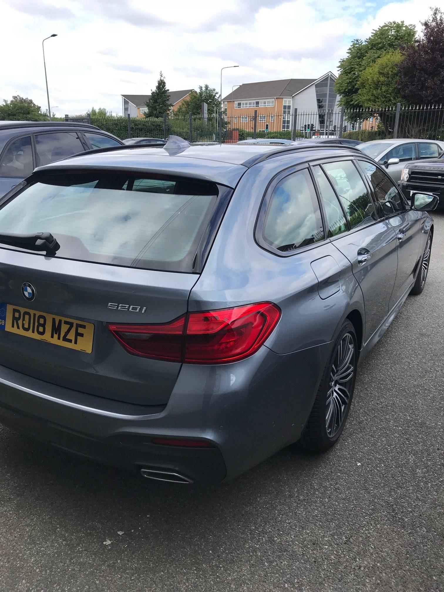 BMW 5 SERIES TOURING 520i M Sport 5dr Auto (Petrol) Car Leasing Followers