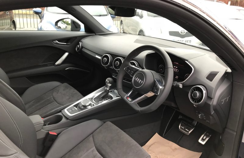 Audi TT Coupe Special Edition 1.8T FSI Black Edition 2dr S-Tronic Car Leasing Interior
