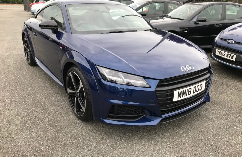 Audi TT Coupe Special Edition 1.8T FSI Black Edition 2dr S-Tronic Car Leasing Luxury