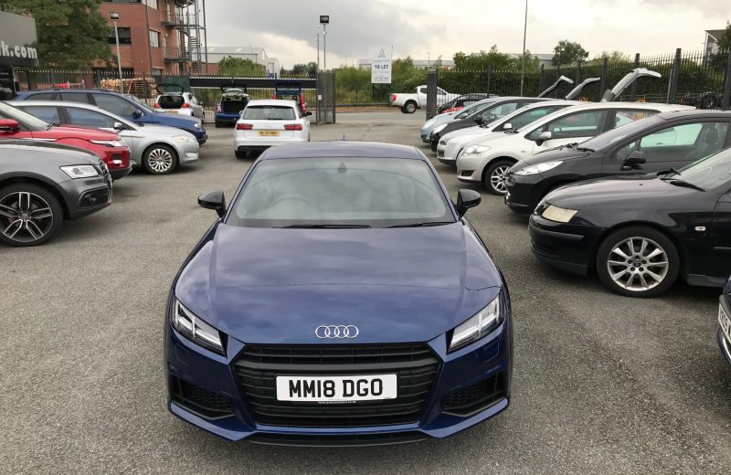 Audi TT Coupe Special Edition 1.8T FSI Black Edition 2dr S-Tronic Car Leasing UK