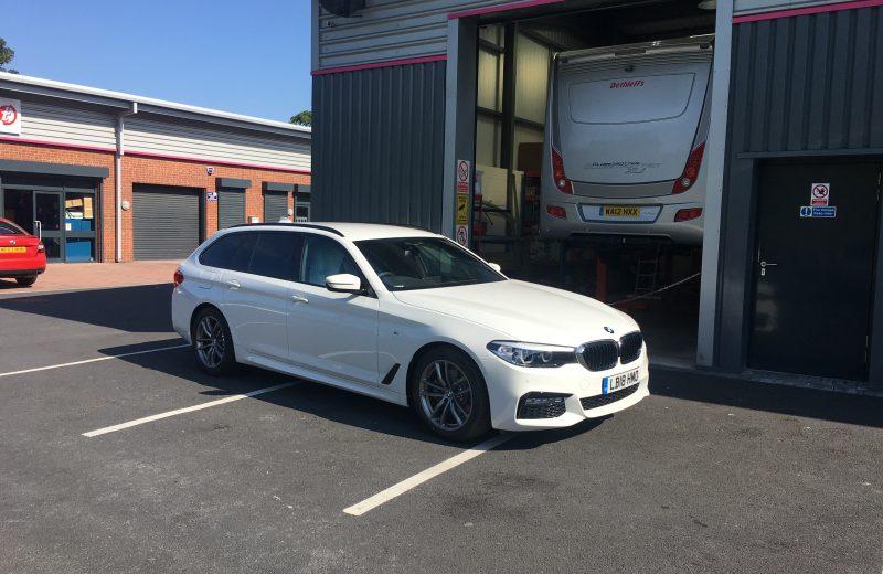 BMW 5 SERIES DIESEL TOURING 520d M Sport 5dr Auto Car Leasing