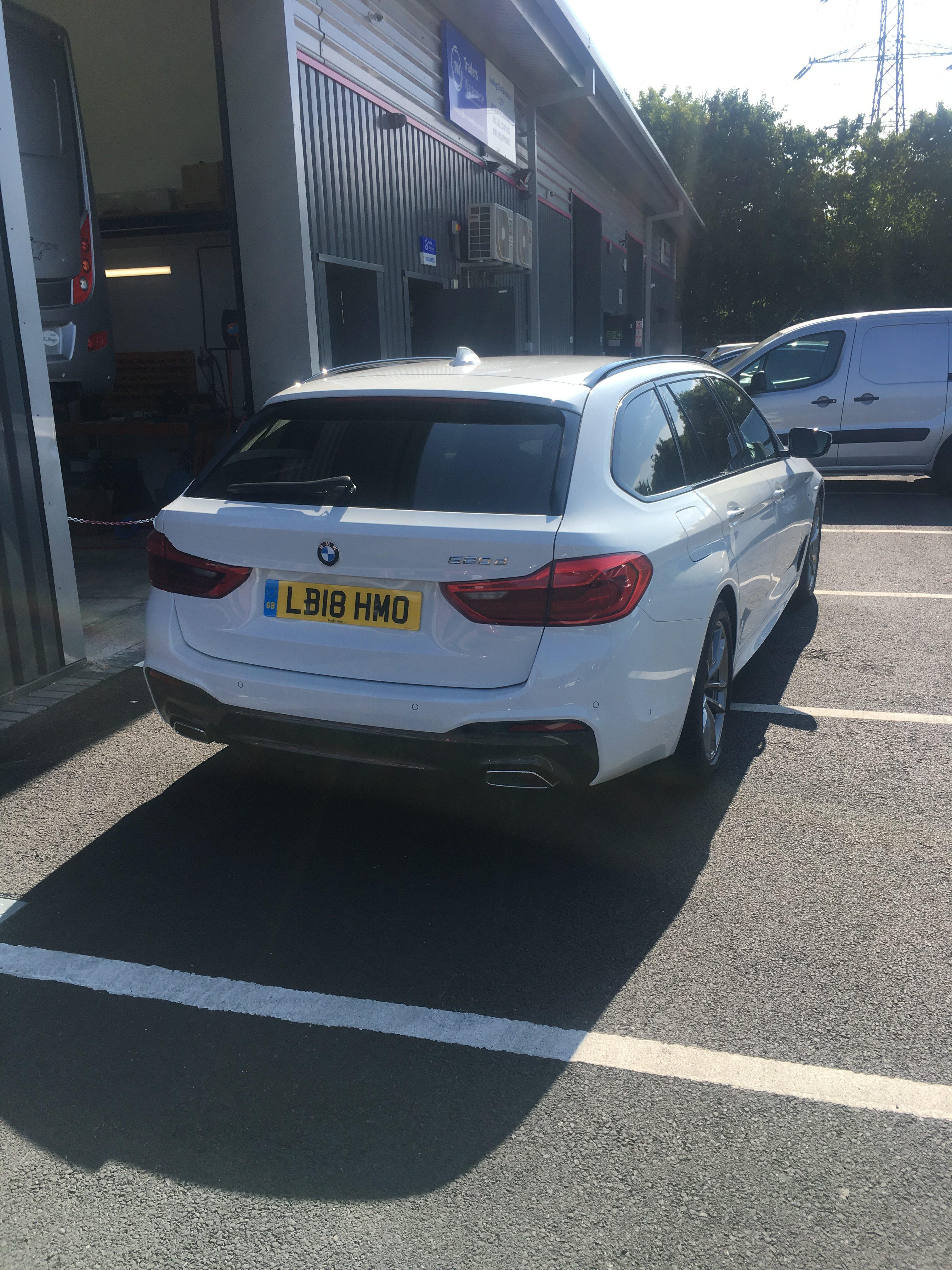 BMW 5 SERIES DIESEL TOURING 520d M Sport 5dr Auto Car Leasing Best Deals