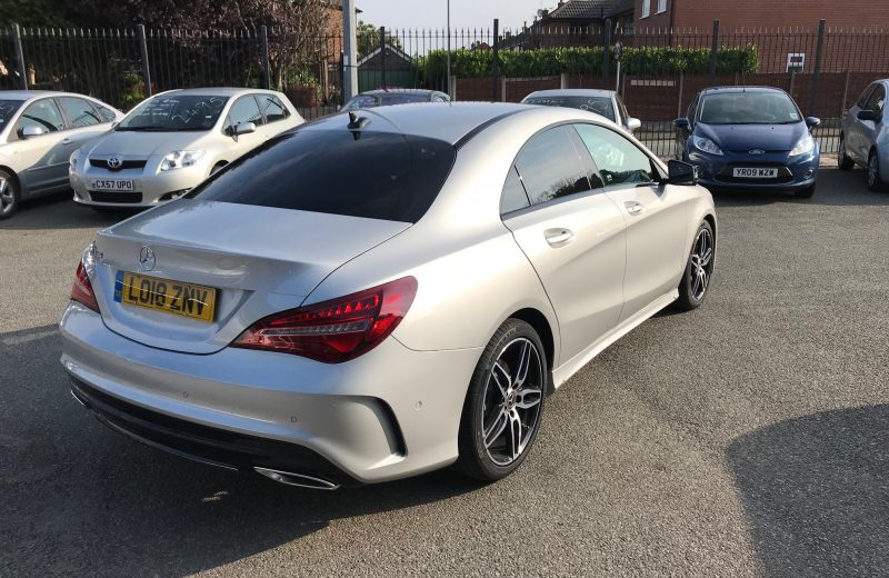 In Review; Mercedes-Benz CLA 4dr Coupe 180 AMG Line (Tip