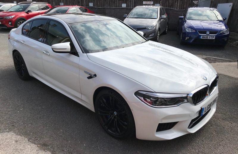BMW M5 SALOON M5 4dr DCT Car Leasing
