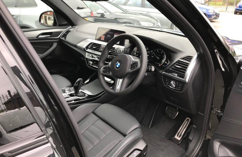 BMW X3 DIESEL ESTATE xDrive20d M Sport 5dr Step Auto Car Leasing UK