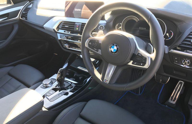 BMW X3 DIESEL ESTATE xDrive20d M Sport 5dr Step [Auto] Car Leasing Interior