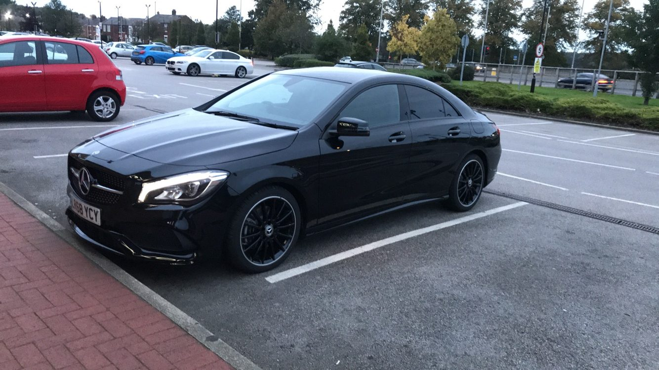 Mercedes-Benz CLA CLASS DIESEL COUPE 220d AMG Line Night Edition 4 door Tip Auto Car Leasing Best Deals