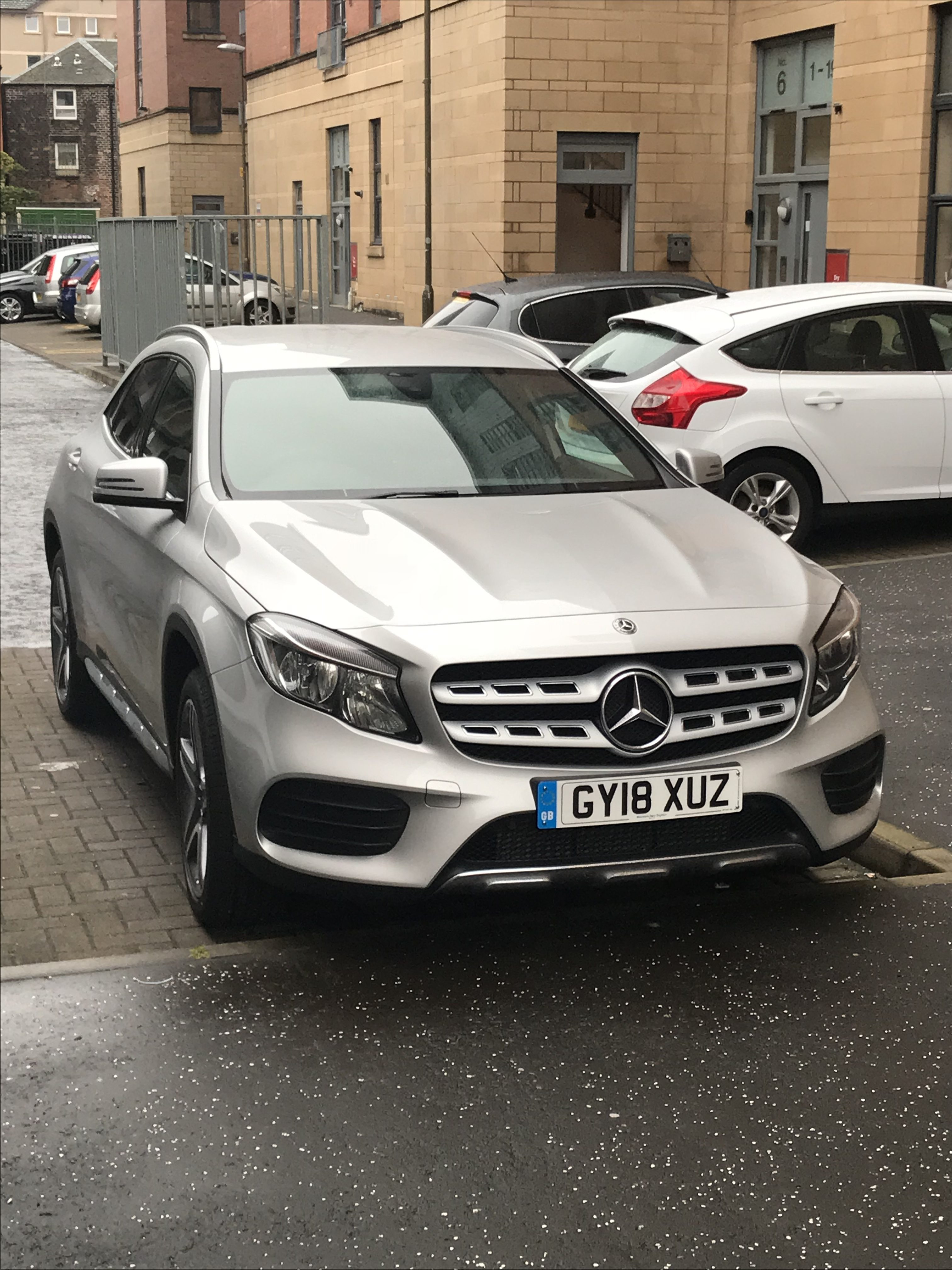 Mercedes-Benz GLA CLASS DIESEL HATCHBACK GLA 200d AMG Line 5dr [Auto] Car Leasing