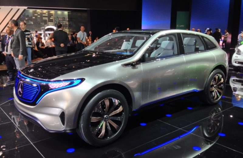merc eq concept outside