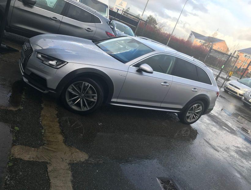 Audi A4 DIESEL ALLROAD ESTATE 2.0 TDI Quattro Sport 5dr S Tronic Car Leasing UK