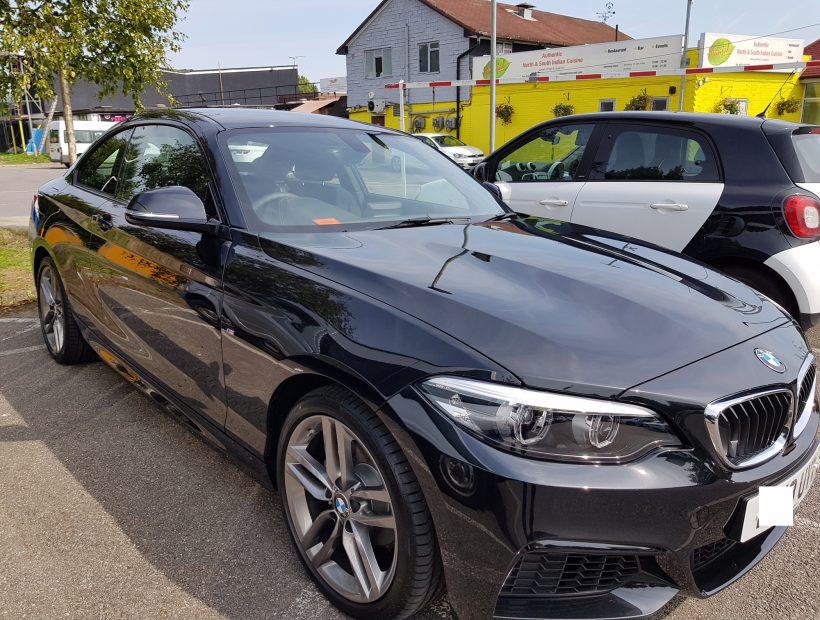 BMW 2 SERIES COUPE 218i M Sport 2dr [Nav] Manual Car Leasing Best Deals