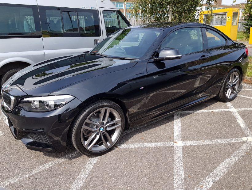 BMW 2 SERIES COUPE 218i M Sport 2dr [Nav] Manual Car Leasing UK