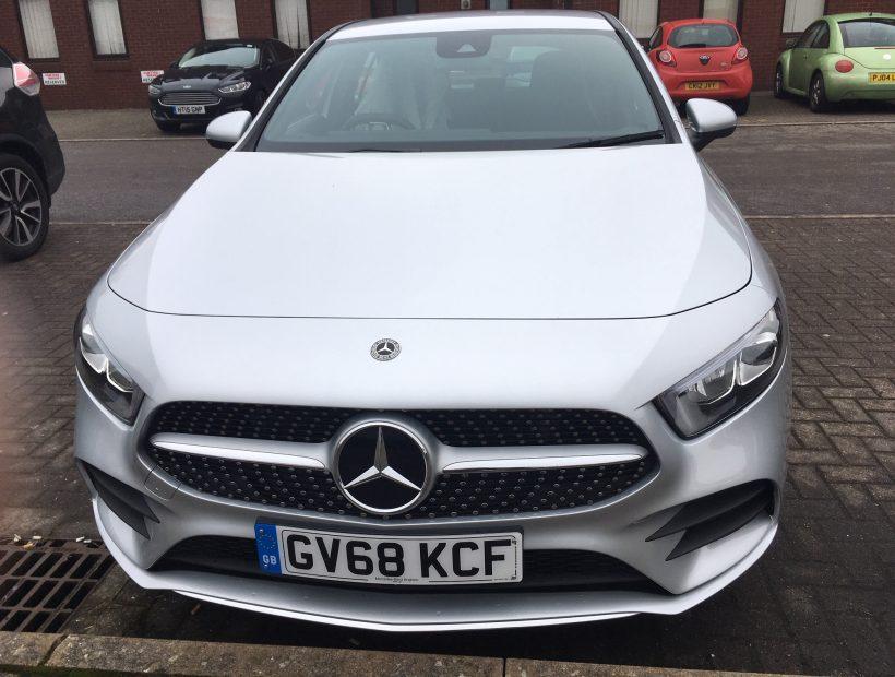 Mercedes-Benz A CLASS DIESEL HATCHBACK A180d AMG Line 5dr [Auto] Car Leasing