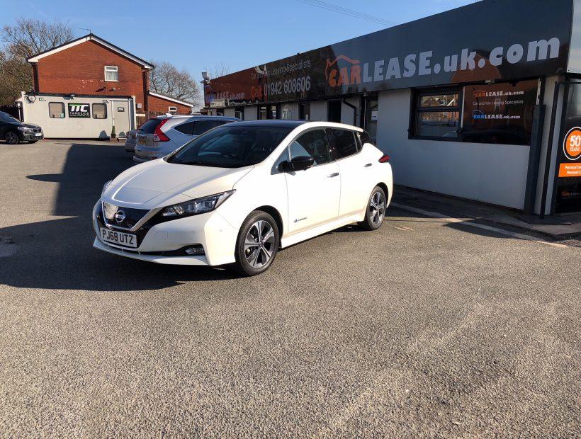 Nissan LEAF HATCHBACK 110kW Tekna 40kWh 5dr Auto Electric Car Leasing