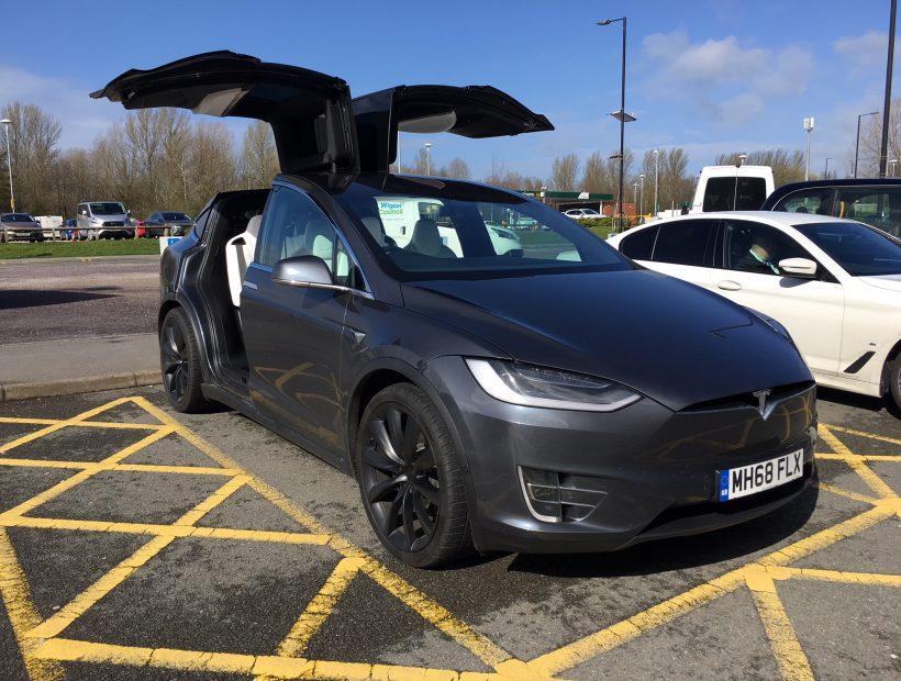 Tesla MODEL X HATCHBACK 449kW 100kWh Dual Motor 5dr Auto Car Leasing