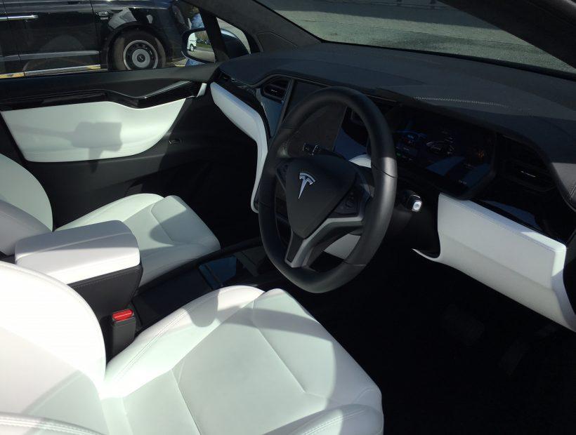 Tesla MODEL X HATCHBACK 449kW 100kWh Dual Motor 5dr Auto Car Leasing Interior