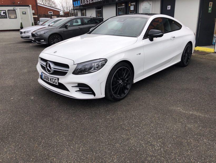 Mercedes-Benz C CLASS AMG COUPE C43 4Matic Premium Plus 2dr 9G-Tronic Car Leasing