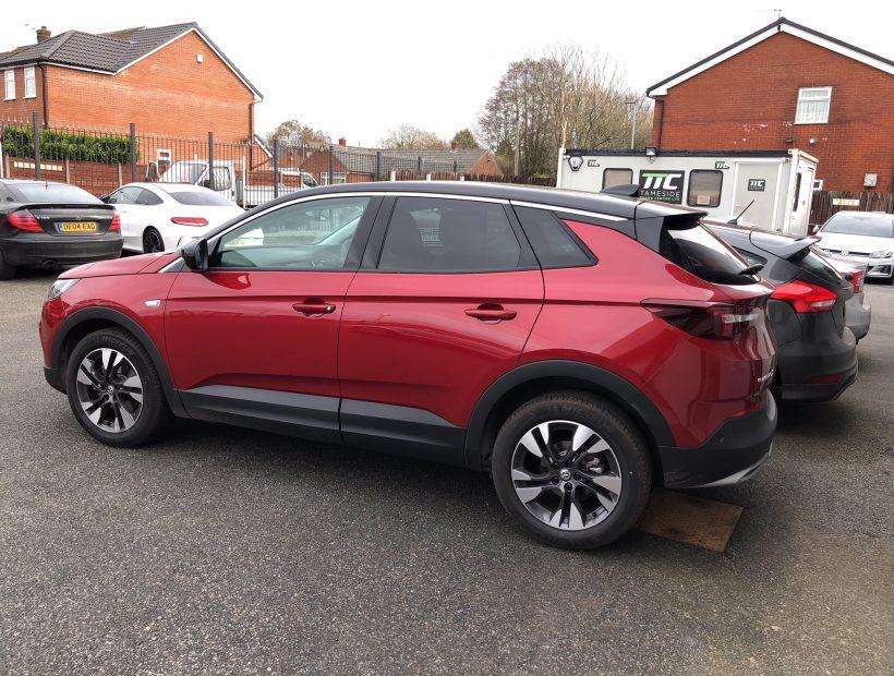 Vauxhall GRANDLAND X HATCHBACK 1.2T Sport Nav 5door Auto Car Leasing Select Options
